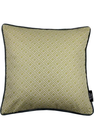 McAlister Textiles Kopenhag Elva Yastık Kılıfı Koyu Sarı Kırlent 60 x 60 cm