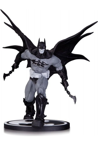 Dc Collectibles Batman Black And White Batman By Carlos D'Anda Statue