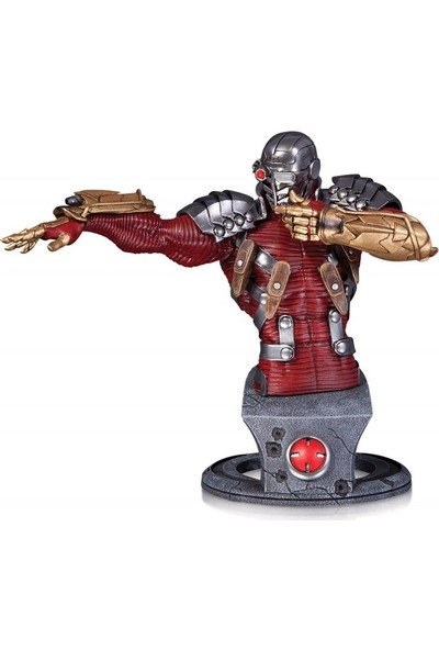 Dc Collectibles Comics Super-Villains Deadshot Bust Statue