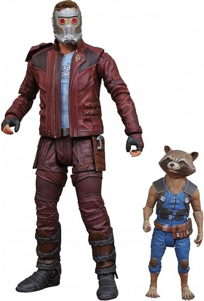 Diamond Select Toys Guardians Of The Galaxy 2 Star-Lord And Rocket Action Figure