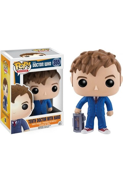 Funko Pop Doctor Who 10Th Doctor W/ Hand