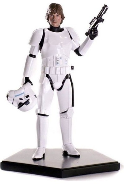 Iron Studios Star Wars Luke Skywalkwer Stormtrooper Disguise Art Scale Statue
