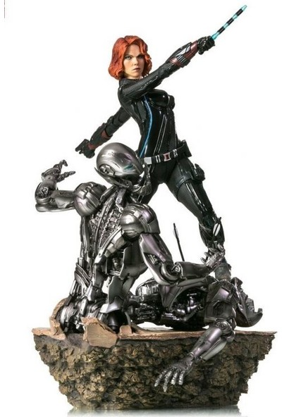 Iron Studios Avengers Age Of Ultron Black Widow Diorama Statue