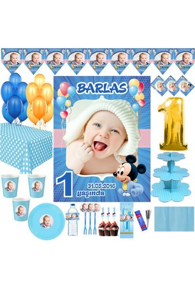 Magnetparti̇ Erkek Çocuk Parti Malzemeleri Resimli Parti Seti Büyük Poster Magnet Cup Cake Vs