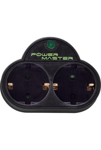 Powermaster İkili Akım Korumalı Priz