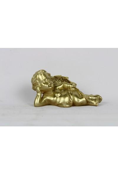 Laçes House Dekoratif Masa Süsü Polyester Döküm Eg-35-Altın