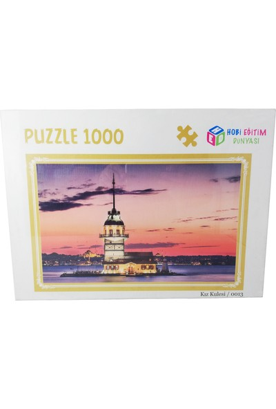Puzzle Kız Kulesi 1000 Parça