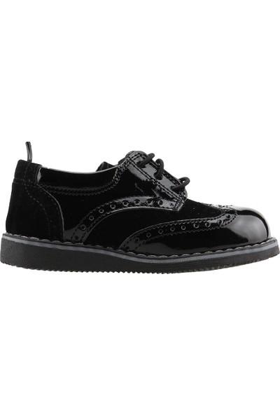 Pandora 401E100 Günlük Ortopedik Sünnetlik Erkek Çocuk Ayakkabı Siyah