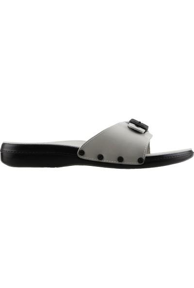 Ceyo 6300-1 Minelli Jelli Günlük Ortopedik Erkek Terlik Ayakkabı Bej