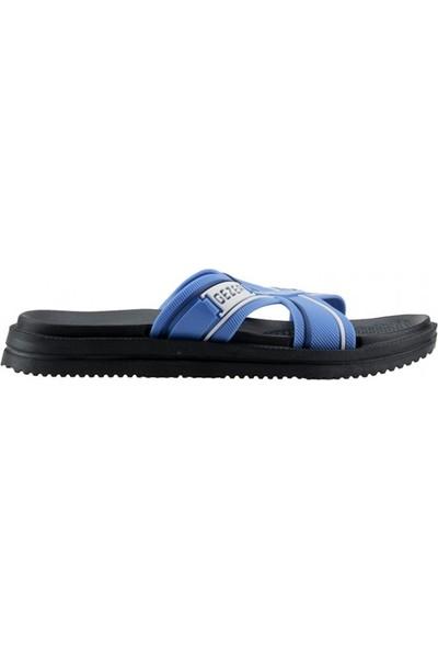 Gezer 10191 Deniz Plaj Havuz Banyo Günlük Erkek Terlik Mavi