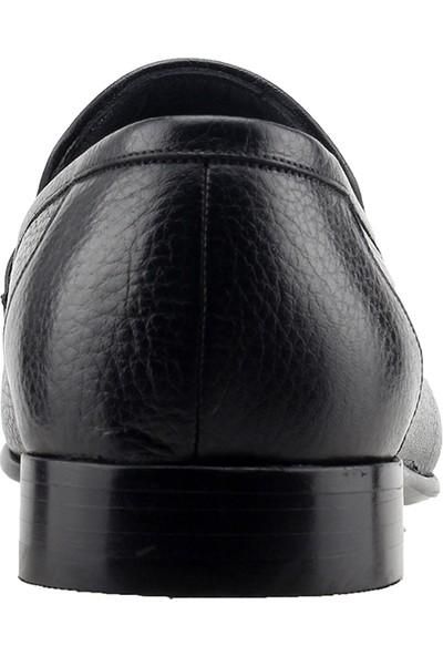 Pierre Cardin 10014011 Deri Günlük Klasik Erkek Ayakkabı Siyah