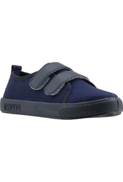 Sanbe 401N006 Anatomic Günlük Erkek Çocuk Keten Spor Ayakkabı Lacivert