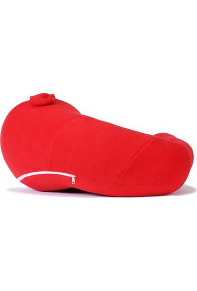 Prado Bebek Minderi Bebek Destek Minderi Oturma Minderi Kırmızı