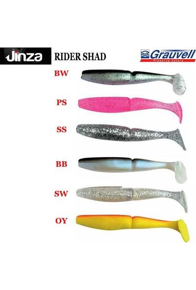 Grauvell Jinza Rider Shad Slikon Yem 12Cm