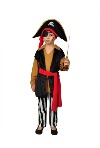 Annee Bakk Kahverengi Korsan Jack Sparrow Kostümü