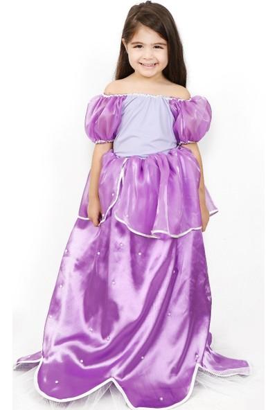 Annee Bakk Mor Prenses Kostümü