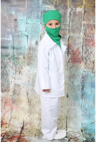 Annee Bakk Doktor Çocuk Kostümü