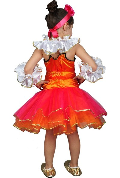 Annee Bakk Çocuk Palyaço Kostümü Tütü