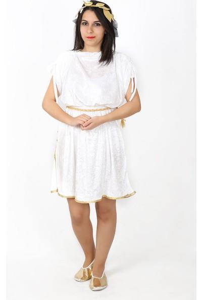 Annee Bakk Romalı Hera Kostümü Yetişkin