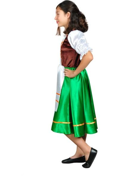 Annee Bakk Hollanda Kostümü Kız Kıyafeti