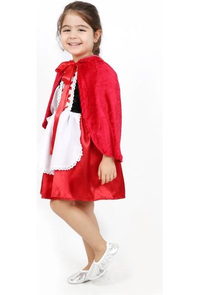Annee Bakk Kırmızı Başlıklı Kız Kostümü