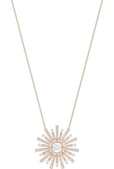 Swarovski Kolye Sunshine:Necklace Lng Czwh/Ros 5459593