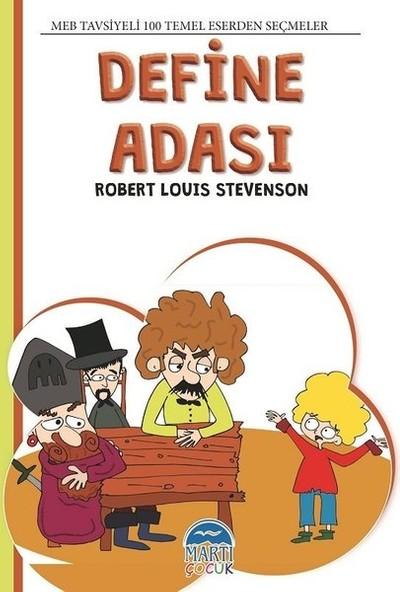 4. Sınıf 100 Temel Eserden Seçmeler Set 2 : Define Adası - Robert Louis Stevenson