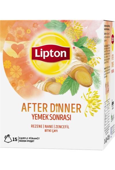Lipton After Dinner - Yemek Sonrası 22.5 gr Bardak Poşet Bitki Çayı