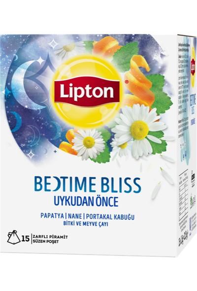 Lipton Bedtime Bliss - Uykudan Önce 22.5 gr Bardak Poşet Bitki Ve Meyve Çayı