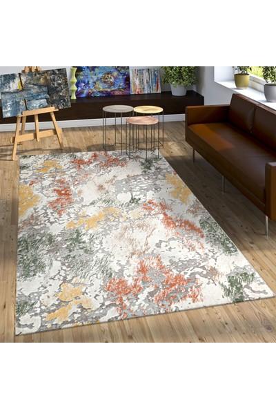Bahariye Craft LM 9133 Terra/Sarı 150 x 230 cm Modern Halı