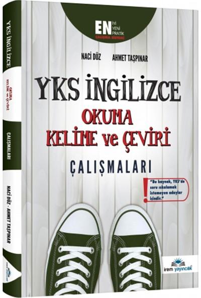 İrem Yayıncılık YKS İngilizce Okuma Kelime ve Çeviri Çalışmaları