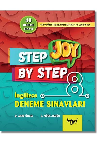 Harf 8. Sınıf Joy Step By Step İngilizce 40 Deneme