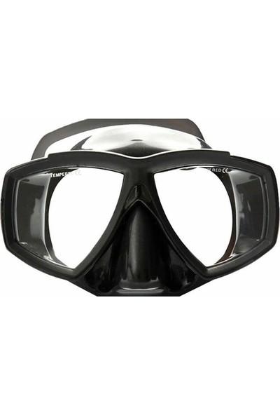 Apnea Seagul Sılıcone Siyah Maske