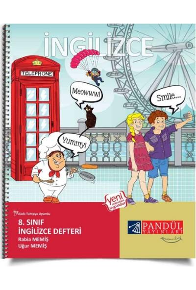 Pandül Yayınları 8. Sınıf İngilizce Defteri