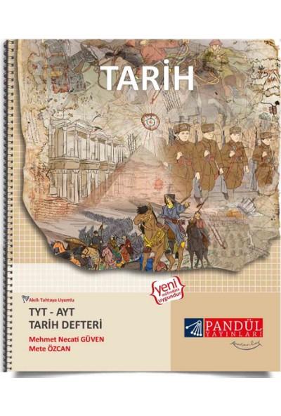 Pandül Yayınları TYT - AYT Tarih Defteri