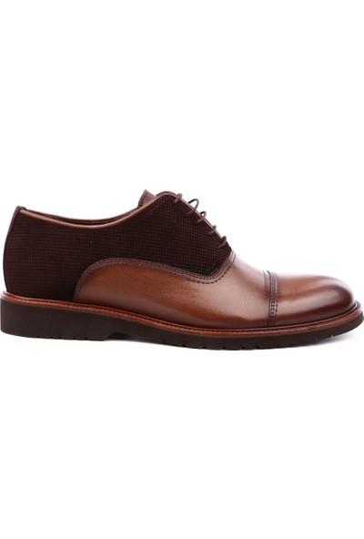 Dgn 1271 Erkek Eva Taban Bağcıklı Soft Ayakkabı Kahve