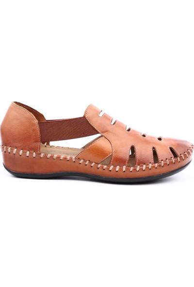 Venüs 18791395 Kadın Sandalet Ayakkabı Taba