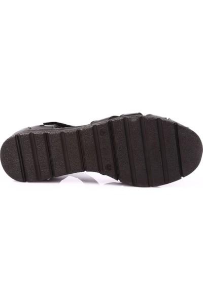 Venüs 1976090Y Kadın Sandalet Ayakkabı Siyah