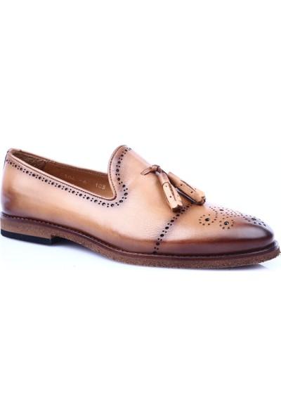 Dgn 6506-6 Erkek Eva Taban Mıcrolıte Soft Klasik Ayakkabı Taba