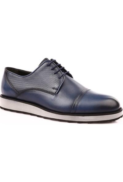 Dgn 7101 Erkek Eva Taban Klasik Ayakkabı Lacivert