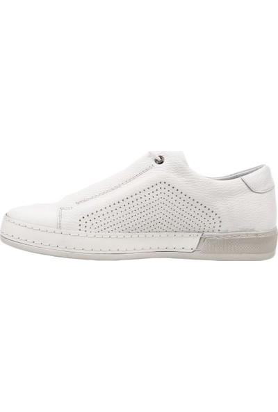 Greyder 9Y1Sa63170 Erkek Spor Bağcıklı Sneakers Ayakkabı Beyaz