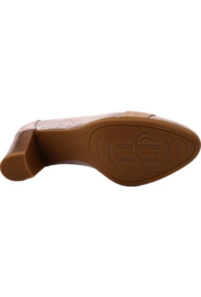 Mammamia D19Ya-3965 Kadın Günlük Ayakkabı Vizon