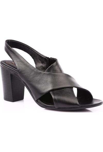 Mammamia D19Ys-1465 Kadın Sandalet Ayakkabı Siyah