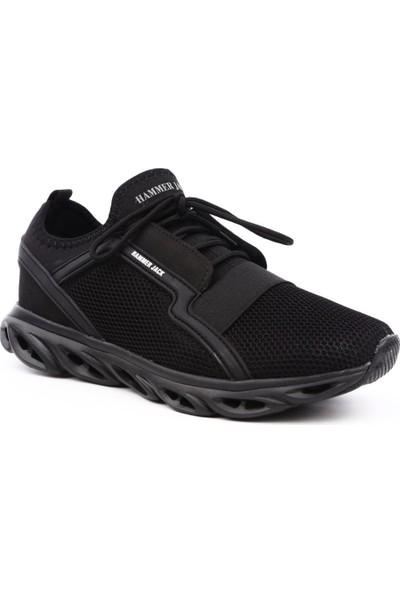 Hammer Jack Hj-555-1163-M Erkek Günlük Ayakkabı Siyah