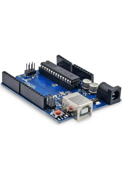 Arduino Uno R3 ( Dıp Model )Full Başlangıç Seti Kutulu