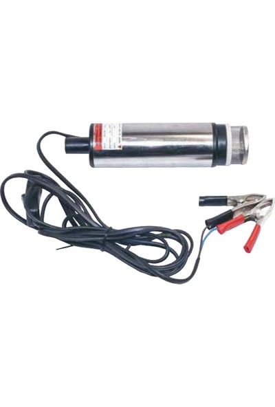 Mitacan Yakıt Transfer Pompası Dalgıç Tipi 12V.Paslanmaz Gövde
