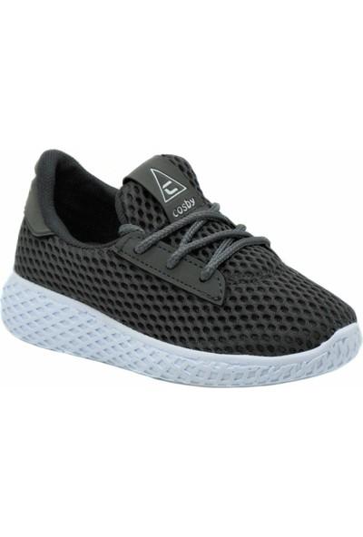 Cosby Gri Çocuk Spor Ayakkabı 23 Nisan Gösteri Ayakkabısı