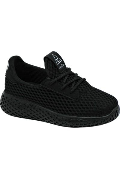 Cosby Siyah Çocuk Spor Ayakkabı 23 Nisan Gösteri Ayakkabısı