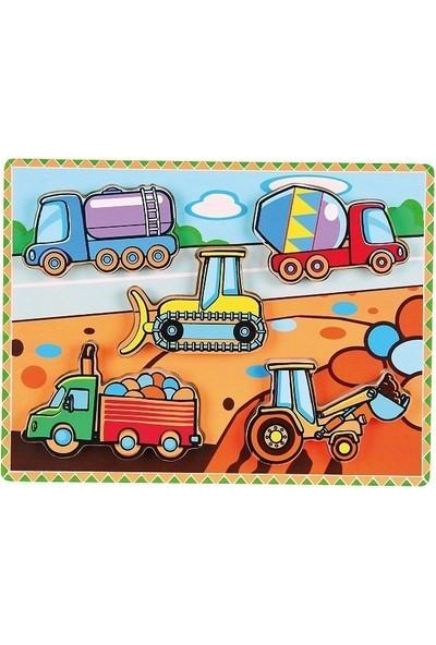 Edu Toys İş Makineleri Puzzle