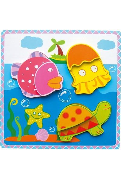 Edu Toys Mutlu Deniz Puzzle 3D